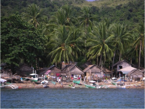 A village in the Philippines where the NGO PATH Foundation Philippines has been training communities in coastal-resource management and offering family-planning services. Photo by PATH Foundation Philippines.