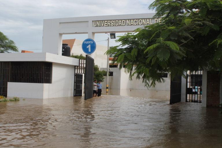 Piura fue una de las regiones peruanas más afectadas por el Niño costero en el año 2017. Foto: Universidad Nacional de Piura.