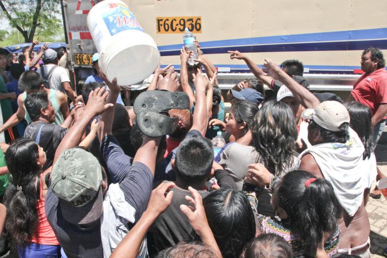 La falta de agua es un problema que se debe enfrentar con la llegada del fenómeno El Niño. Foto: Oscar Chong.