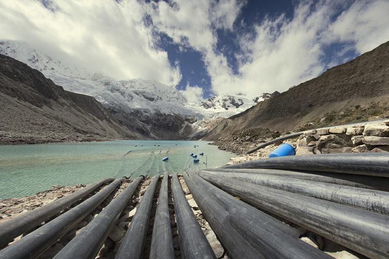 La laguna Palcacocha se ubica en el Parque Nacional Huascarán. Foto: Proyecto Glaciares.